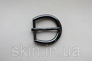 Пряжка ременная, ширина - 30 мм, цвет - черный никель, артикул СК 5330, фото 2