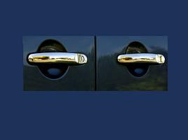 Накладки на ручки (2 шт, нерж) - Volkswagen EOS 2006-2011 гг.