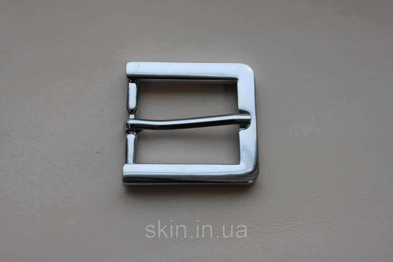 Пряжка ременная, ширина - 25 мм, цвет - никель, артикул СК 5331