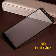Защитное стекло Optima 3D Full Glue для Samsung J415 J4 Plus Black