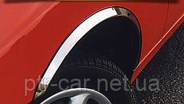 Накладки на арки (4 шт, нерж) - Volkswagen Fox 2006+ гг.