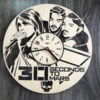 "Годинник настінний ""Thirty Seconds to Mars"" CL-0315"