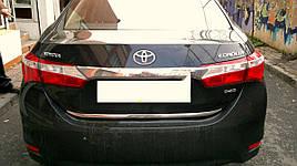 Кромка багажника (нерж) - Toyota Corolla 2013+ гг.
