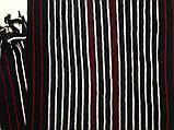 Турецкий шарф для мужчин с бахромой  в полоску, фото 2