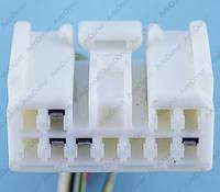 Разъем электрический 11-и контактный (31-15) б/у 11539