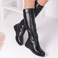 Женские кожаные сапоги в Украине. Сравнить цены, купить ... 85dc4ea69d8