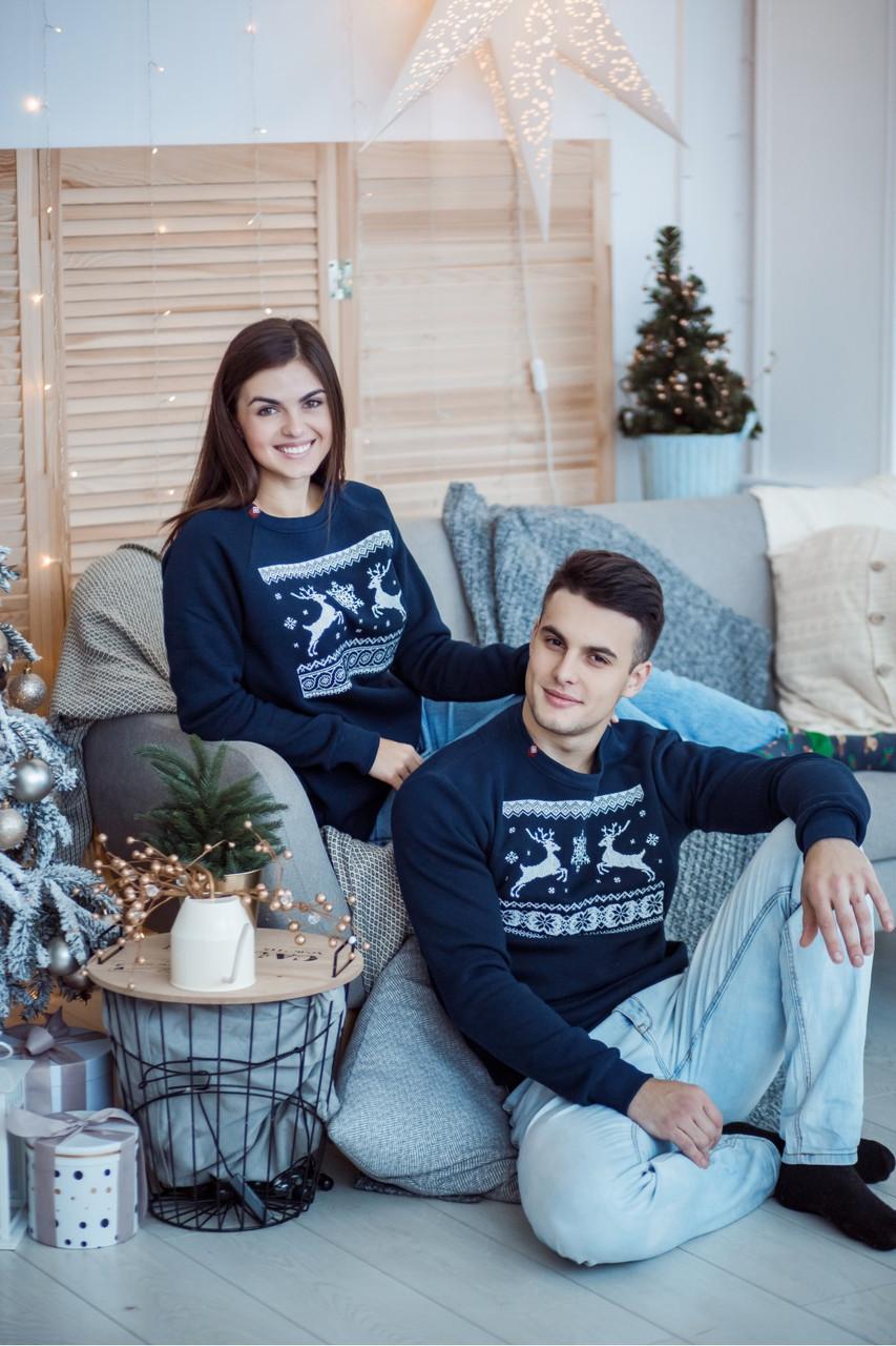 """Новогодние свитера (свитшоты, регланы) для всей семьи """"Рождественское чудо"""""""