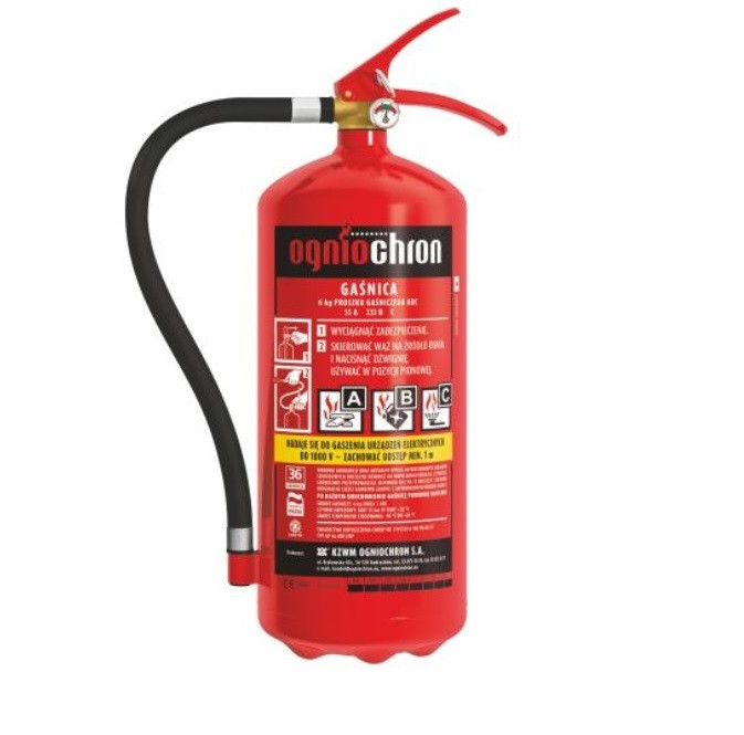 Огнетушитель OGNIOCHRON GP6X ABC 6кг