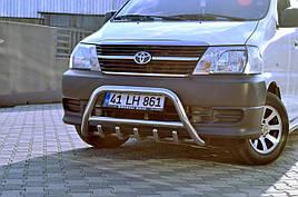 Кенгурятник (нерж) - Toyota HiAce