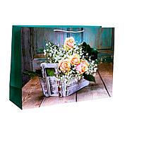Пакет подарочный W7-1201 (35х50х15 см) в ассортименте