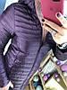 Женская удлиненная куртка на пуху с капюшоном в расцветках. Д-29-1118 (0273), фото 8