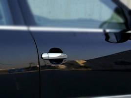Накладки на ручки (4 шт., нерж.) - Audi A2 1999-2005 гг.