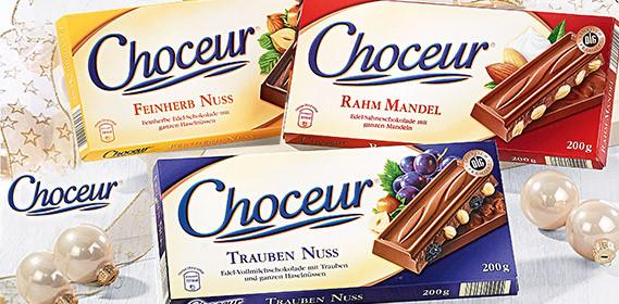 Сhoceur (Шато) шоколад 200 г, Германия