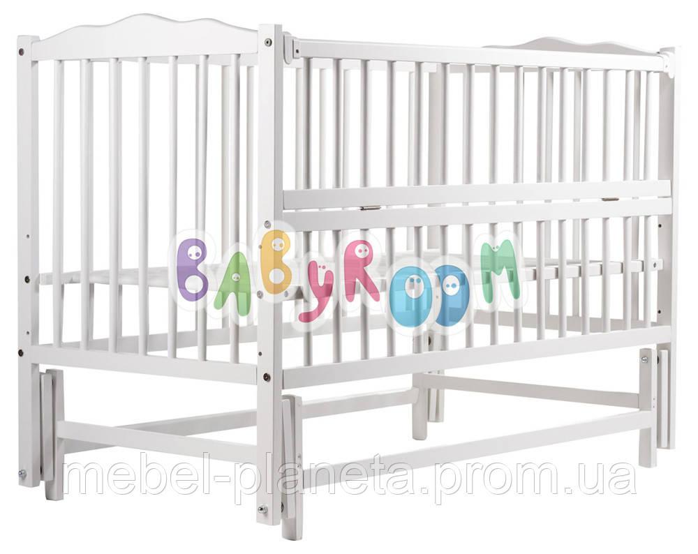 Кровать Babyroom бук белый