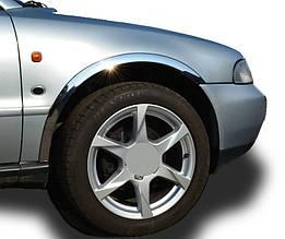 Накладки на арки (4 шт, нерж) - Audi A4 B5 1994-2001 гг.