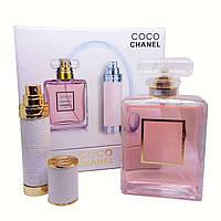 Уценка Подарочный набор Chanel Coco Mademoiselle (парфюм 100 ml и атомайзер 7,5 ml) - 85%