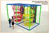 Веревочный лабиринт для детей Улей 1