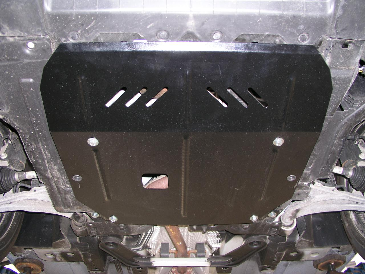 Защита картера (двигателя) и Коробки передач на Акура МДХ 3 (Acura MDX III) 2014 - ... г