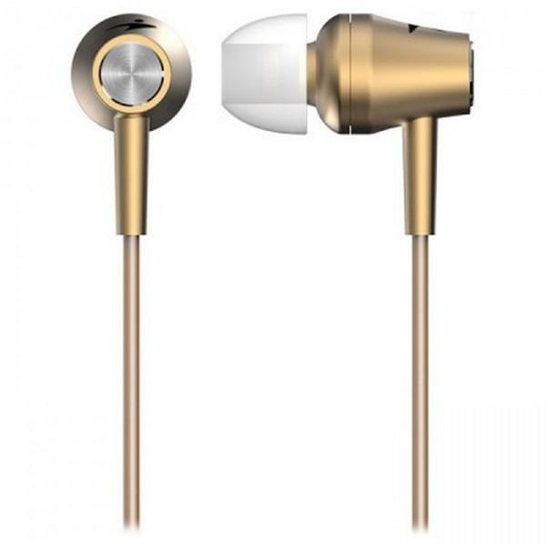 Навушники вакуумні провідні з мікрофоном Genius HS-M360 c Gold (31710008404)