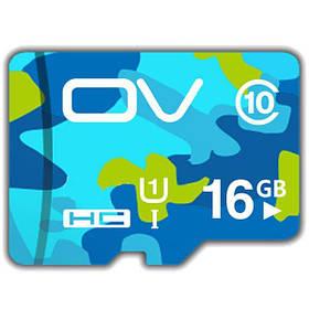 OV 16GB Камуфляж класса 10 Высокоскоростная карта памяти Карточка TF с флэш-памятью - 1TopShop