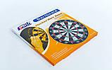 Мишень для игры в дартс из флока Flocked BL-15115 15in Bailli (d-37см, в комплекте 6 дротиков 6g)., фото 6