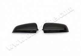 Накладки на зеркала (2 шт., карбон) - Audi A4 B7 2004-2008 гг.