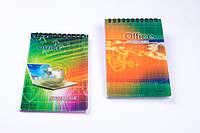 Блокнот на спирале, пластиковая обложка A-6, №ZY-501-1, детские блокноты , фото 1