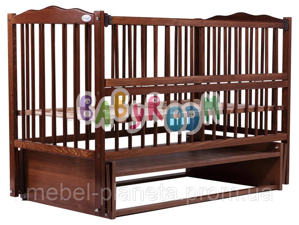 Кровать Babyroom  бук орех