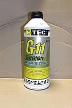 """Антифриз """"GT11"""" E-TEC концентрат 1,5 л."""