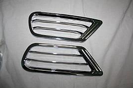 Накладки на задние воздуховоды (2 шт, пласт) - Toyota LС 100