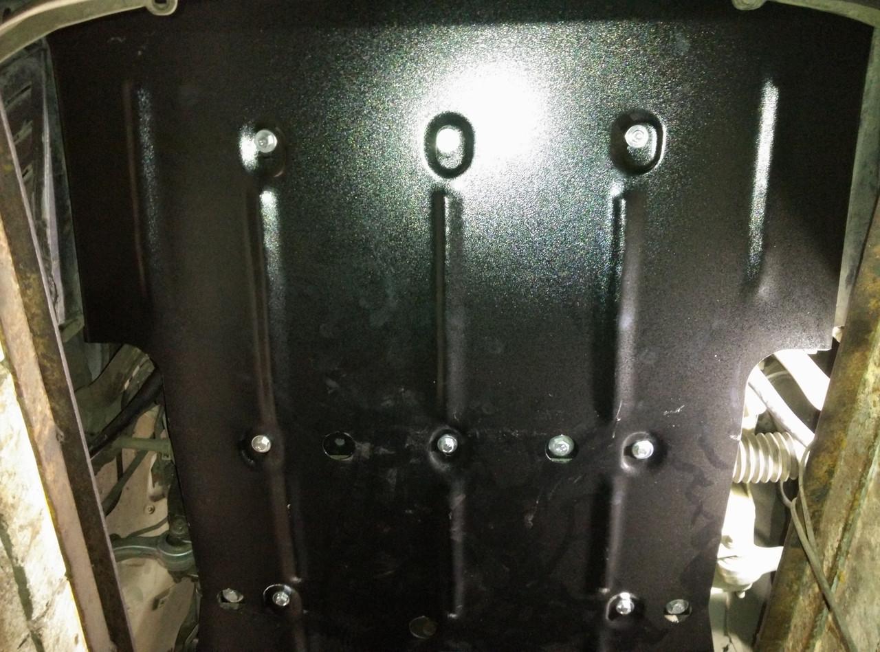 Защита двигателя и радиатора на БМВ 1 Е81 (BMW 1 E81) 2007-2014 г
