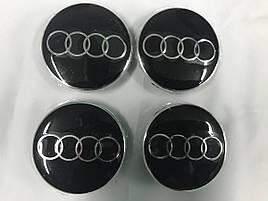 Колпачки в титановые диски (4 шт) - Audi A5 2016+ гг.