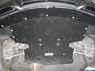 Защита АКПП на БМВ 5 Е39 (BMW 5 E39) 1996-2003 г (металлическая/3.5 и больше)