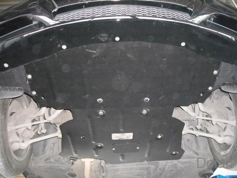 Защита двигателя и радиатора на БМВ 5 Е39 (BMW 5 E39) 1996-2003 г (металлическая/3.5 и больше)