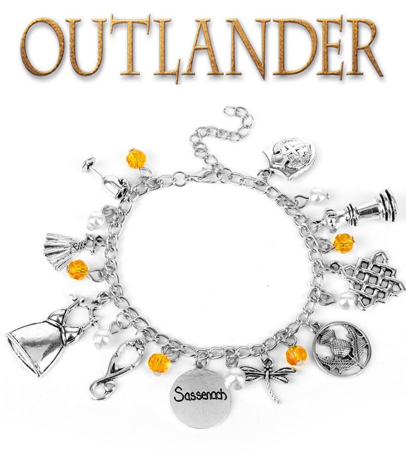 Браслет с подвесками Outlander Чужестранка