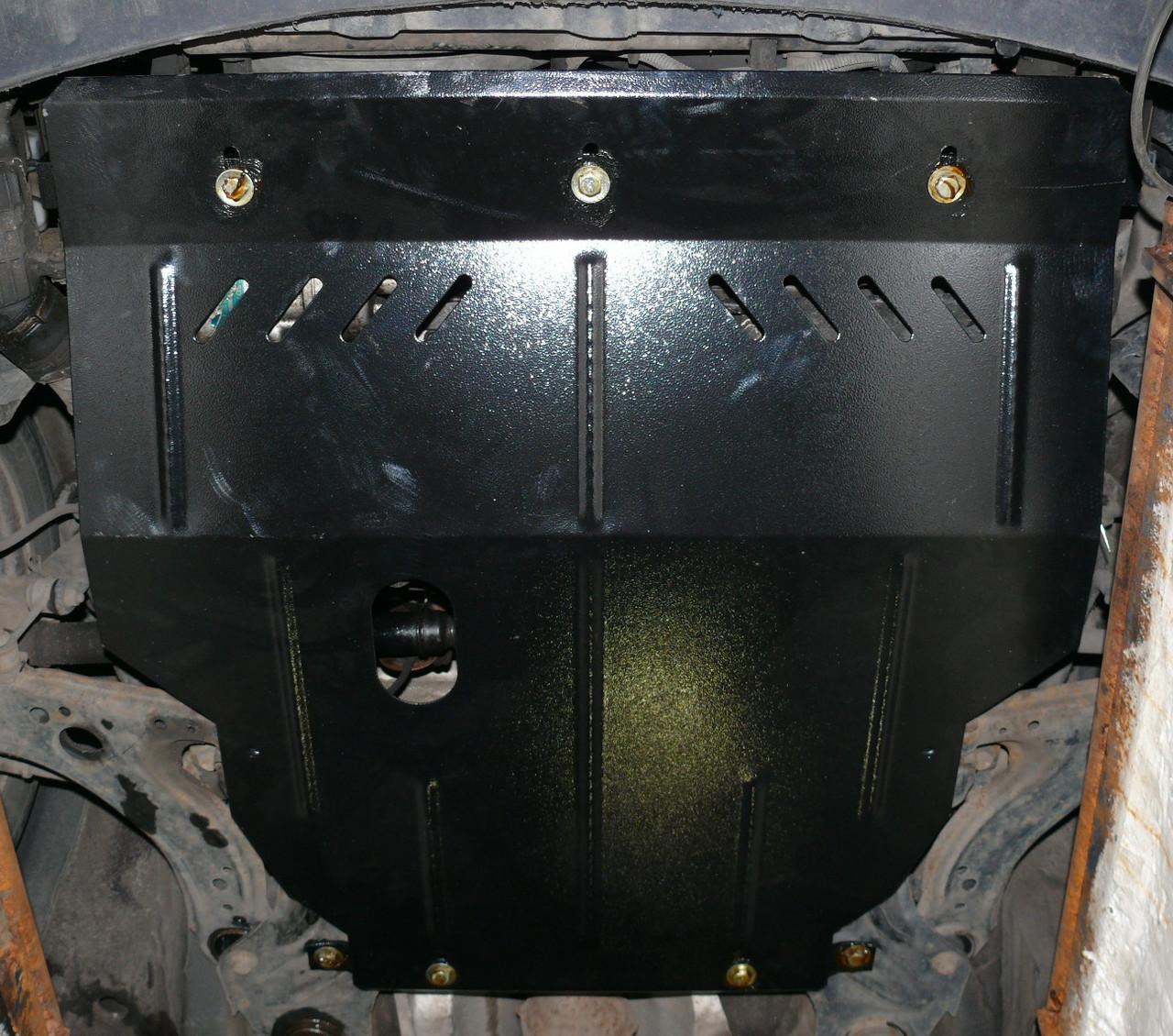 Защита картера (двигателя) и Коробки передач на Бриллианс М2 (Brilliance M2) 2006 - ... г (металлическая/1.5)