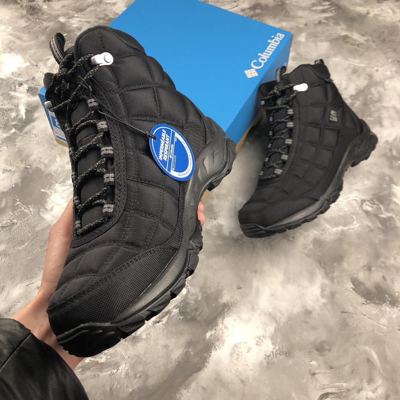 90e6e0533cb Оригинальные зимние кроссовки Columbia Firecamp Boot Black, 1672881 - 012
