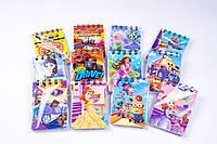 Блокнот на спиралі з малюнками, A-7, 80 аркушів, №10080, блокноти дитячі