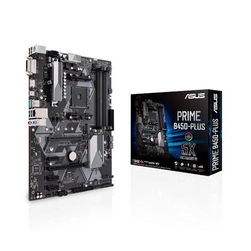 Материнская плата ASUS Prime B450-Plus (AM4/B450/DDR4)