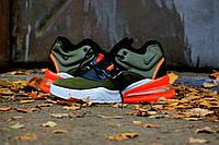 "Nike Air Force 270 ""Medium Olive/Black-Challenge Red"""