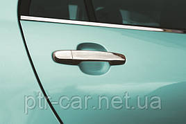 Накладки на ручки (4 шт, нерж) - Toyota Prius 2007-2012 гг.