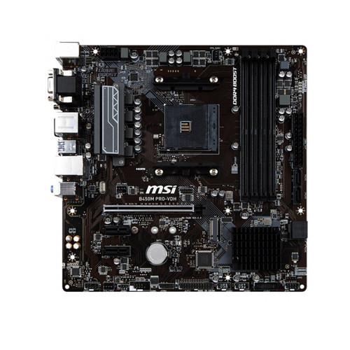 Материнская плата MSI B450M Pro-VDH (AM4/B450/DDR4)