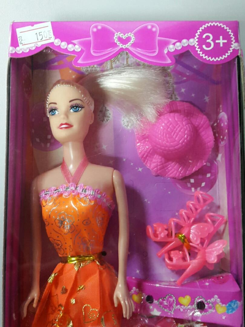 Кукла барби с аксессуарами