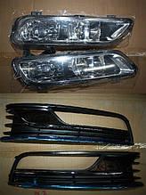 Протитуманки з вставками - Volkswagen Passat B7 2012-2015 рр.