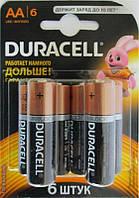 Батарейка Duracell Basic AA/LR06 BL 6шт