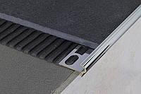 Угловой профиль для защиты ступеней нержавеющая сталь SGІ 9 мм