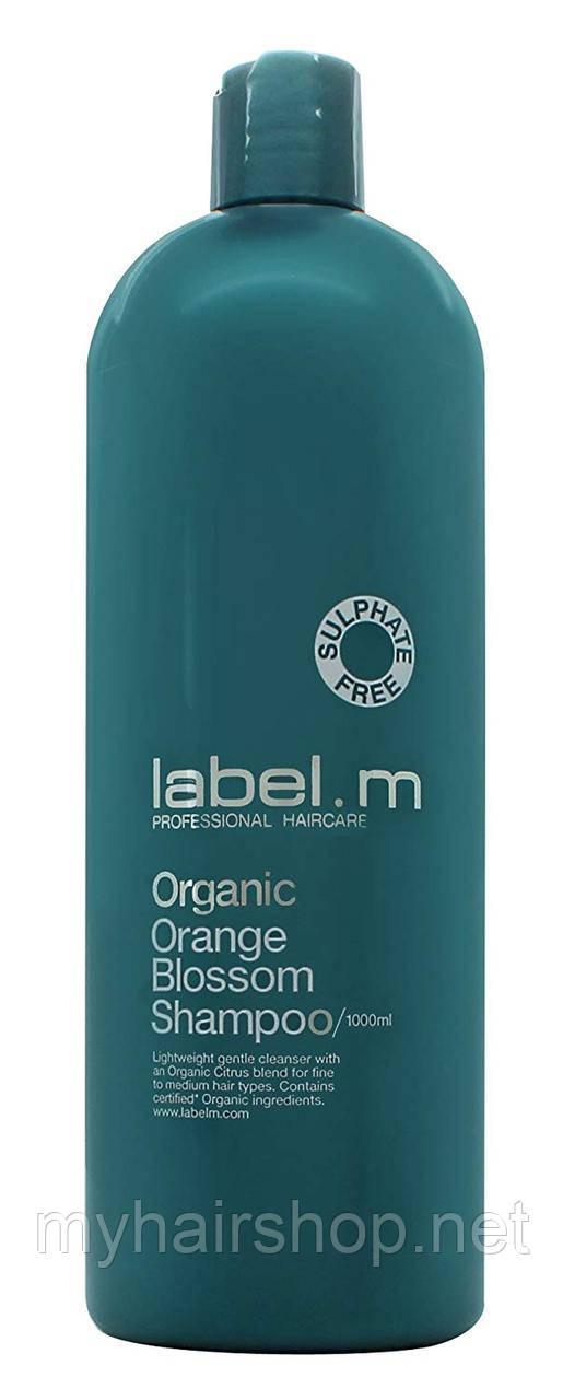 Шампунь для волосся з квіткою апельсина LABEL.M Cleanse Organic Orange Blossom Shampoo 1000 мл