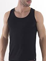 Майки мужские чёрные хлопок Турция р.54.От 4шт по 35грн