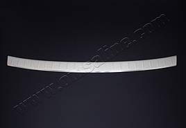 Накладка на задний бампер (нерж.) - Audi Q2 2016+ гг.