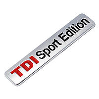 3D эмблема -  TDI Sport Edition, фото 1
